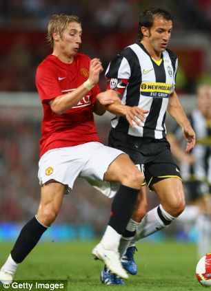United youngster Lee Martin - apparently Forests latest loan signing?