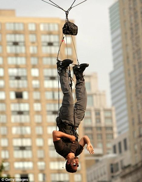 David Blaine - Hanged Man
