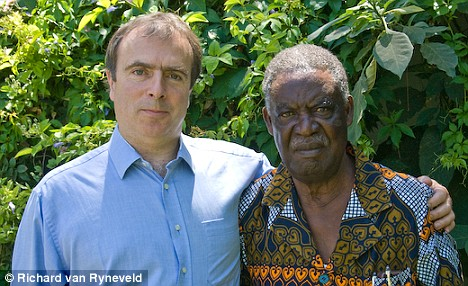 Peter Hitchens with Michael Sata