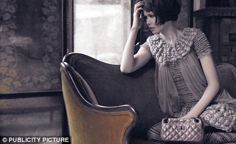 Claudia Schiffer in the latest Chanel campaign