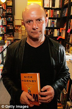 Danny's father, author Nick Hornby