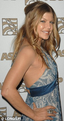 STACEY FERGUSON AKA FERGIE AT ASCAP'S 25TH ANNUAL POP MUSIC AWARDS April 2008