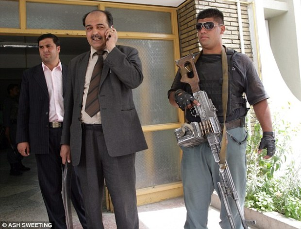 Kabul police chief General Ali Shah Paktiawal