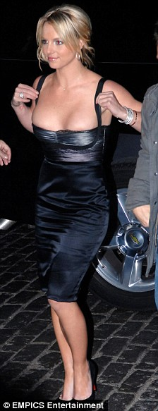 Britney Spears arrives to celebrate her birthday at Tenjune club in New York.