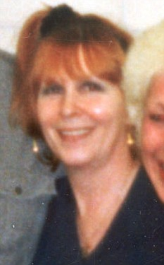 Linda Calvey poses for a photo at a Holloway prison party