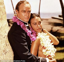 Image result for brando and tarita