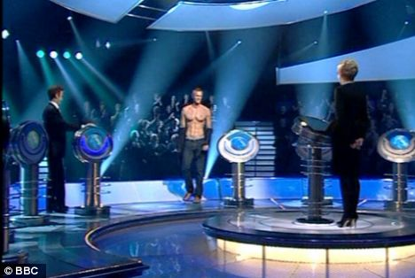 Mark Foster bares all to Anne Robinson on The Weakest Link in which he competed against Strictly dancers and judges