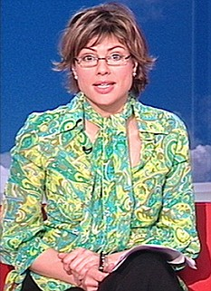 In 2006 Miss Silverton apologised on air for wearing an eye-watering green and yellow psychedelic blouse so loud that viewers contacted the BBC to complain