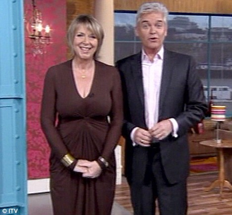 Fern Britton returning to her usual role of presenting This Morning alongside Phillip Schofield