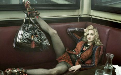 Madonna in Louis Vuitton's latest ad campaign