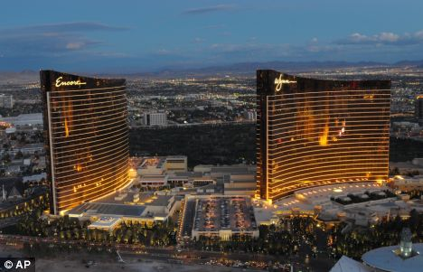 Steve Wynn's new Encore Hotel and Casino
