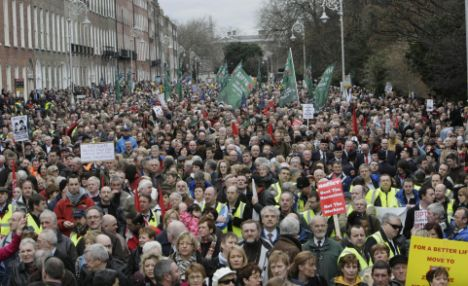 Protests against economic conditions