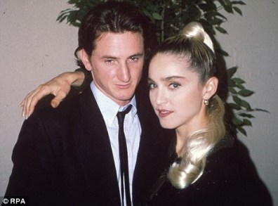 Image result for madonna and sean penn