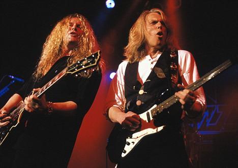 Rock Gods Resurrected Thin Lizzys Guitarist Scott Gorham