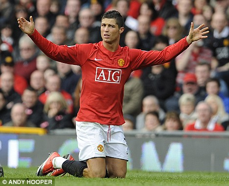 Image result for Cristiano Ronaldo's '12-year-old mentality' ridiculed by former Man Utd team-mate