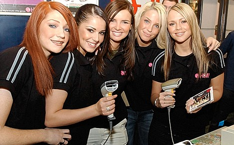 Back at the beginning: Girls Aloud as a newly formed group in 2002