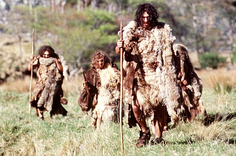Victims? Neanderthals lived 300,000 years ago. They managed to survive several ice ages before dying out around 30,000 years ago, around the same time as human beings arrived on the continent