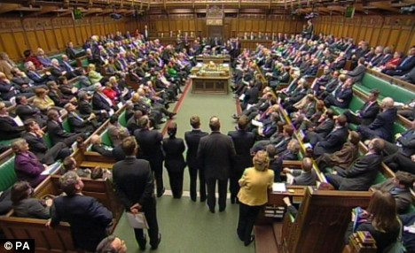 The Commons was packed for today's statement