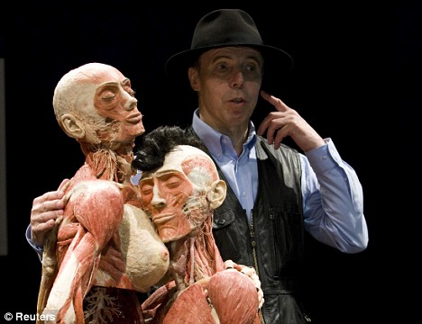 German anatomy professor Gunther von Hagens