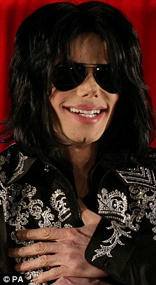 Michael Jackson in March this year