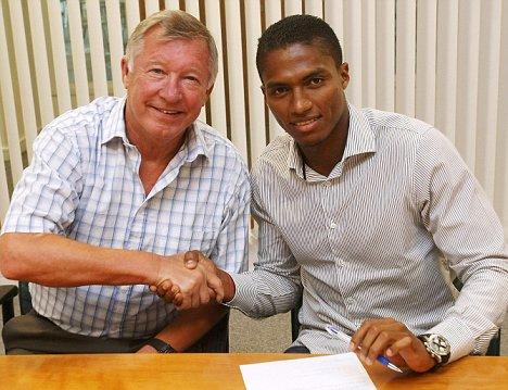 Sir Alex with Valencia seals deal
