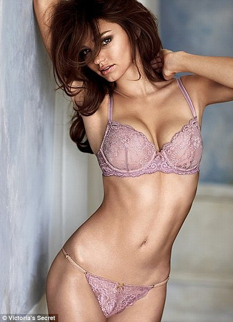 Miranda Kerr in new Victoria's Secret campaign