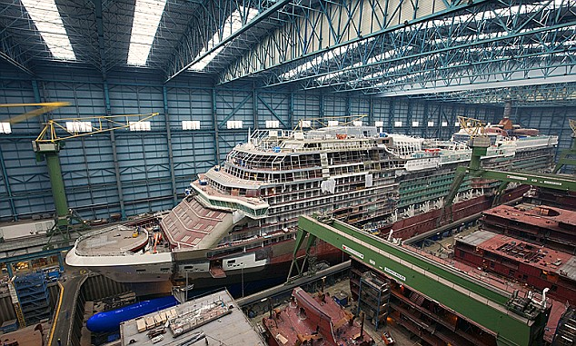 Image result for cruise ships construction