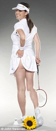 Calendar Girls - Jill Halfpenny 'Tennis'
