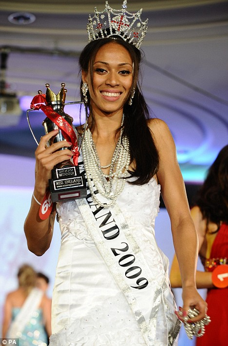 Rachel Christie becomes Miss England 2009