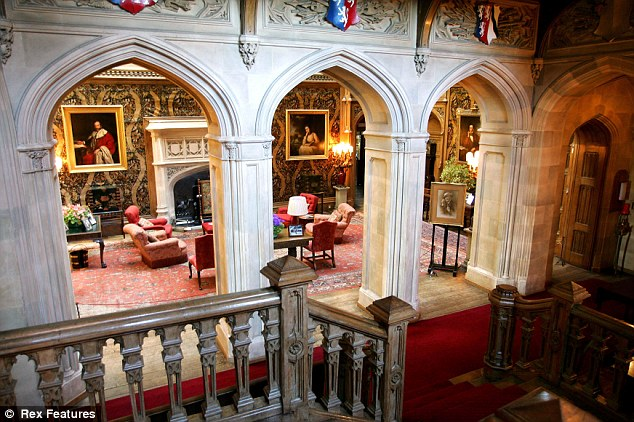 Image result for highclere castle rooms