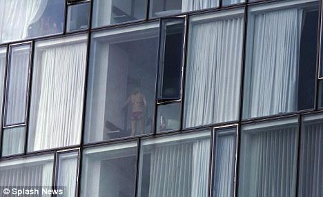 hot older mom caught naked