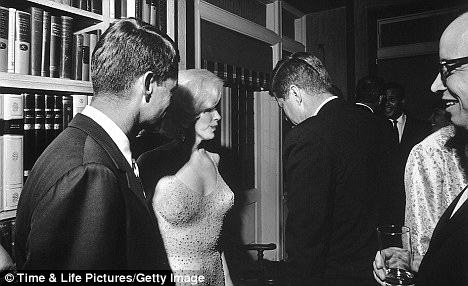 Image result for robert kennedy y marilyn monroe