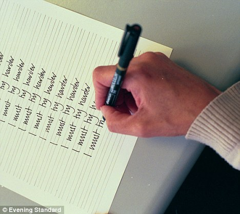 Not all in the eyes: Scientists say the way to spot a liar is by looking at their handwriting