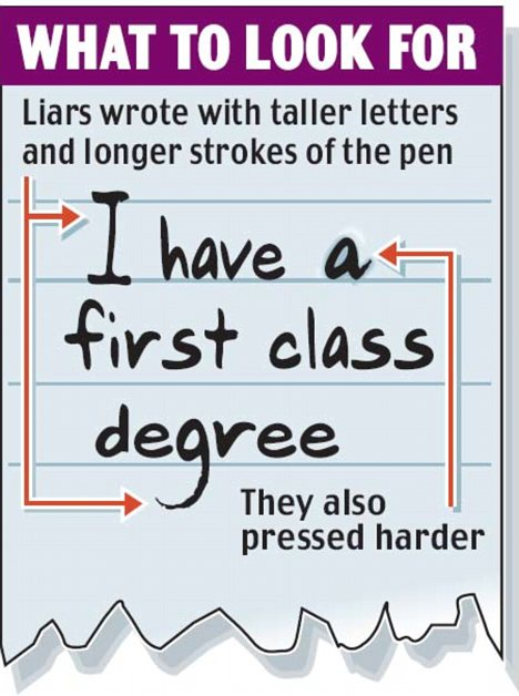 A handwriting example