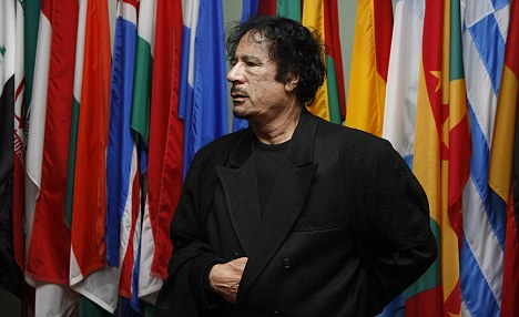 Libyan in New York: Colonel Gaddafi at the United Nations