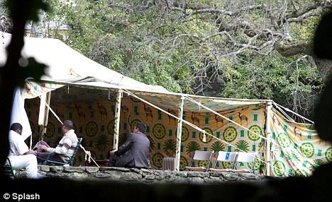 Gaddafi tent