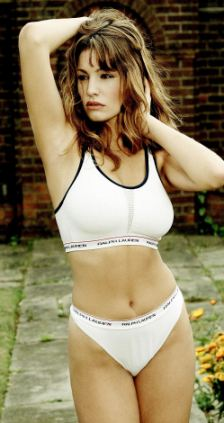 Young Kelly Brook Models For Ralph Lauren In Early Photo Shoot But Where Were The Clothes
