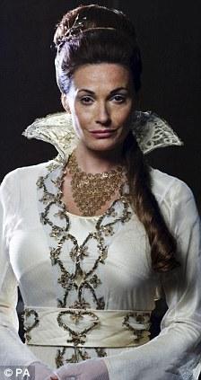 Magic Make Under For Sarah Parish In BBC Fantasy Epic