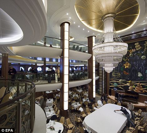 Inside the Oasis of the Seas