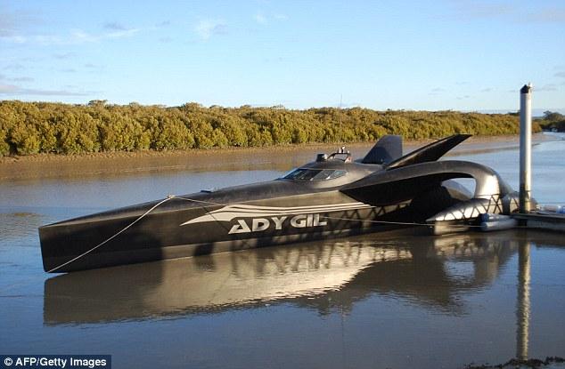 Sea Shepherd Society vessel the Ady Gil
