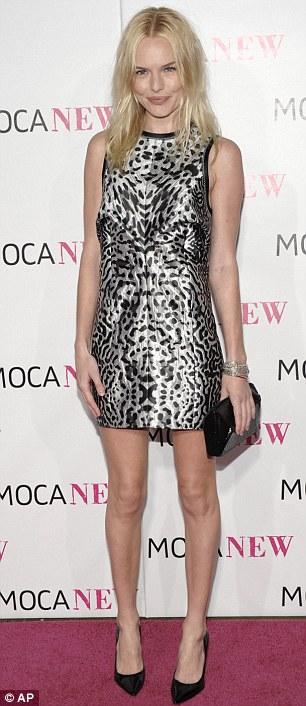 Kate Bosworth arrives at The Museum of Contemporary Art's 30th anniversary gala