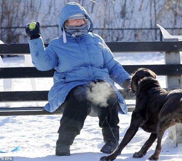 Freezing in Minneapolis