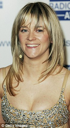 Skin deep: Edith Bowman says she's not bothered by wrinkles