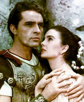 Image result for richard burton and jean simmons in the robe