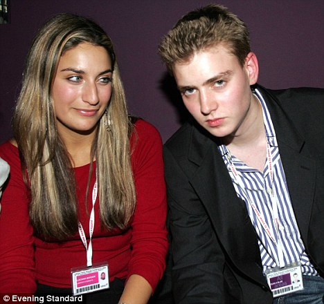 Euan Blair and Luciana Berger