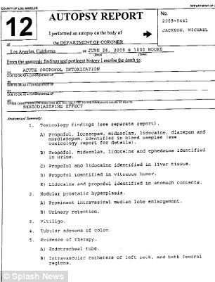 Jackson coroner's report