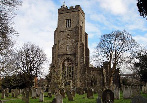 Controversial sermon: St Nicholas Church in Sevenoaks, Kent