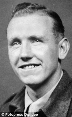 Survivor: Former prisoner of war Alistair Urquhart as a young soldier