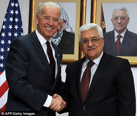 Joe Biden and Salam Fayyad