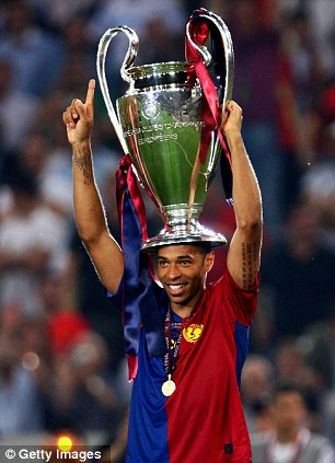 Thierry Henry would rather play Arsenal in the Champions League final    Daily Mail Online